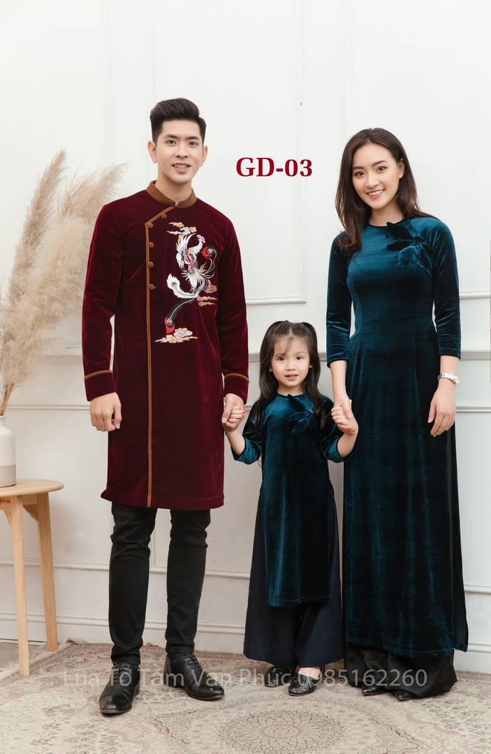 áo dài cả gia đình