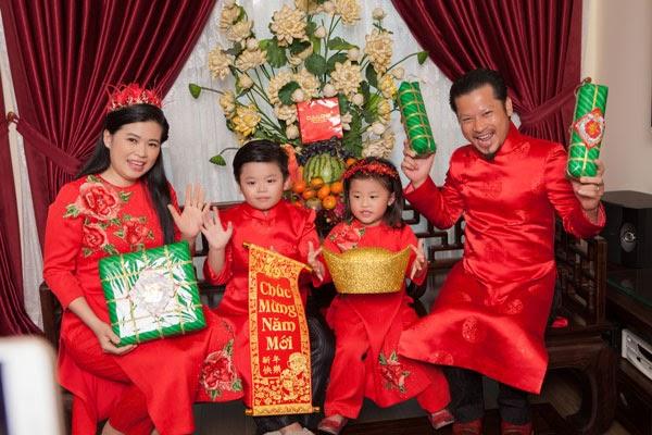 áo dài gia đình